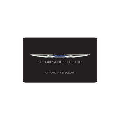 $50 Chrysler Collection Gift Card