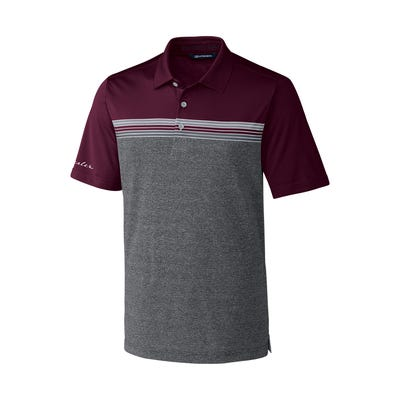 Men's Alki Sport Stripe Polo