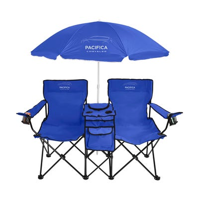 Pacifica Duo Beach Chair with Speaker & Cooler