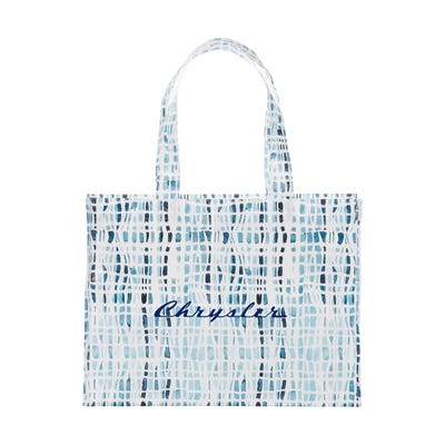 Laminated Shopper Tote