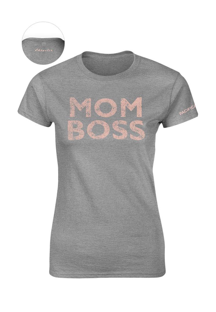 Women's Pacifica Mom Boss T-shirt